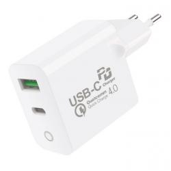 CARREGADOR TURBO DELIVERY QC 4.0 - FONTE TIPO C / USB C / TYPE C - GSHIELD