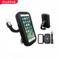 SUPORTE COM CASE E USB PARA MOTO