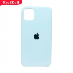 CAPA APPLE IPHONE 11 SILICONE AVELUDADA - CORES