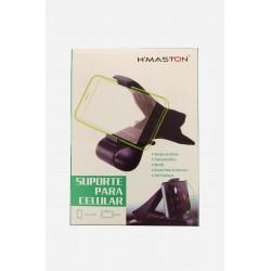 Suporte veicular Preto H'MASTON para celular