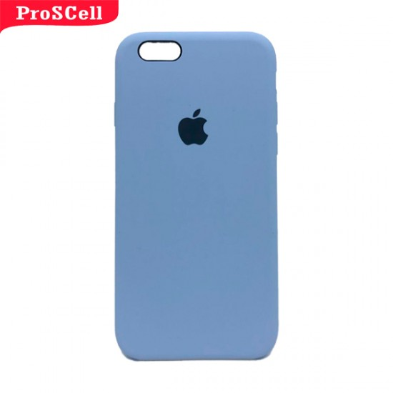 CAPA APPLE IPHONE 6/ 6S SILICONE AVELUDADA - CORES