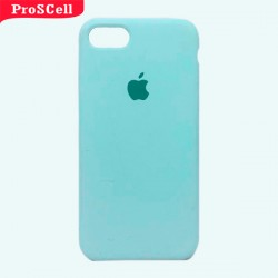 CAPA APPLE IPHONE 7/8 SILICONE AVELUDADA - CORES