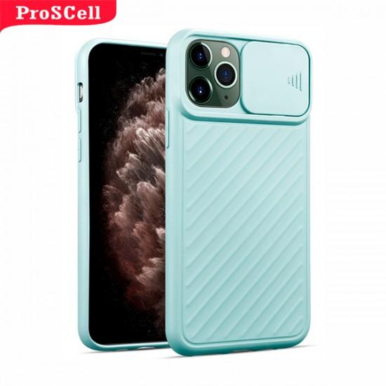 CAPA APPLE IPHONE 11 PRO MAX COM PROTEÇÃO CÂMERA - SILICONE