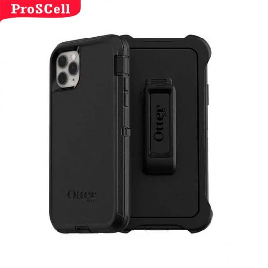 CAPA ANTI-SHOCK ORIGINAL DEFENDER OTTERBOX PARA IPHONE 11 PRO MAX - PRETO