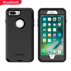 CAPA ANTI-SHOCK ORIGINAL DEFENDER OTTERBOX PARA IPHONE 7 PLUS/ 8 PLUS - PRETO