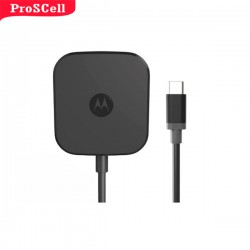 CARREGADOR ORIGINAL MOTOROLA TURBO HOME POWER CHARGE+ TYPE C