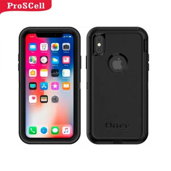 CAPA ANTI-SHOCK ORIGINAL DEFENDER OTTERBOX PARA IPHONE XS MAX - PRETO