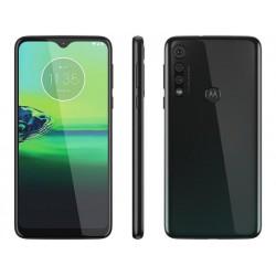 "Smartphone Motorola G8 Play 32GB Preto Ônix 4G - 2GB RAM Tela 6,2"" Câm. Tripla + Câm. Selfie 8MP"
